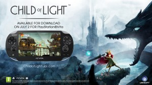 『チャイルド オブ ライト』Vita版が7月31日に発売決定