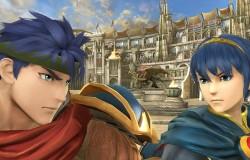 """『スマブラ3DS/Wii U』初公開のステージFE""""闘技場""""にてアイクとマルスが対峙する画像が公開"""