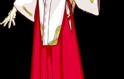 『シェルノサージュ オフライン』初回特典のイオン用コスチューム「巫女服」(イラスト)が公開