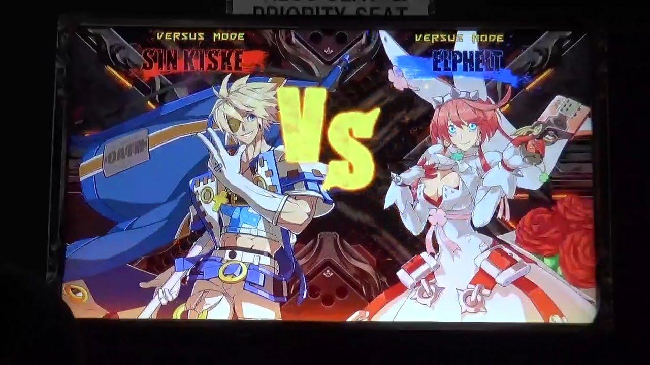 『ギルティギア イグザードサイン』シン vs. エルフェルト 新キャラ対決プレイ動画