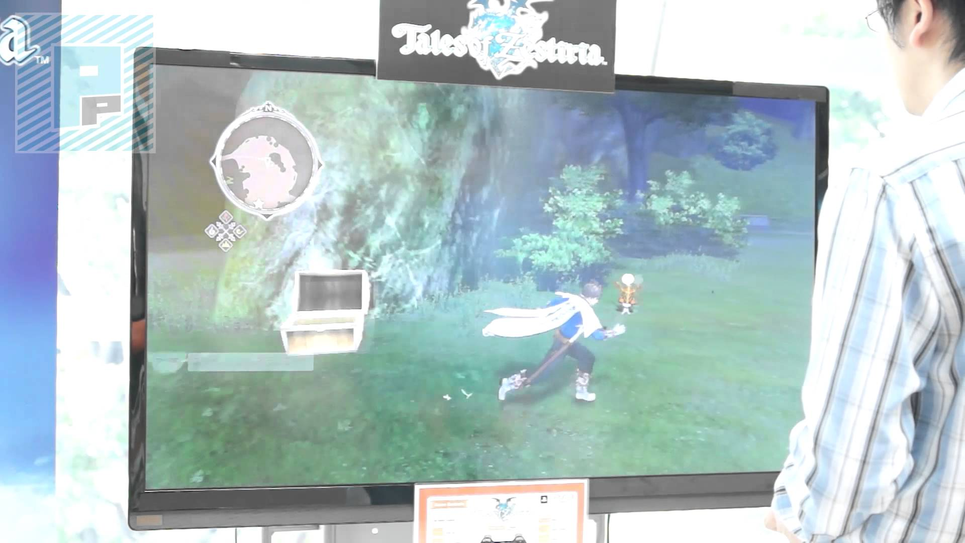 『テイルズ オブ ゼスティリア』10分にわたるTGSデモのCam撮りプレイ動画