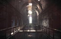 『バイオハザードリベレーションズ2』不気味な孤島と刑務所が描かれたコンセプトアートが公開