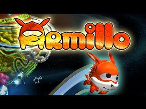 アルマジロが宇宙を冒険するローリングアクション『アミーロ・ザ・アルマジロ』10月29日Wii U向けに配信
