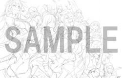 『閃乱カグラ ESTIVAL VERSUS -少女達の選択-』限定版「にゅうにゅうDXパック」描き下ろし特製BOXイラストのラフ画が公開
