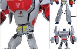 初代PSがコンボイに変形!PSとトランスフォーマーがコラボしたロボットトイが2015年2月に発売