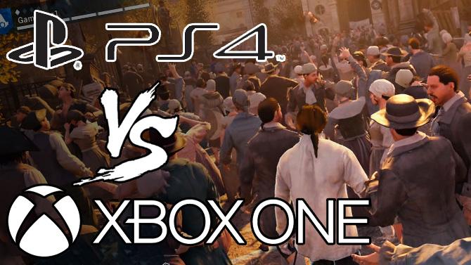 『アサシンクリード ユニティ』PS4版とXbox One版のグラフィック比較動画