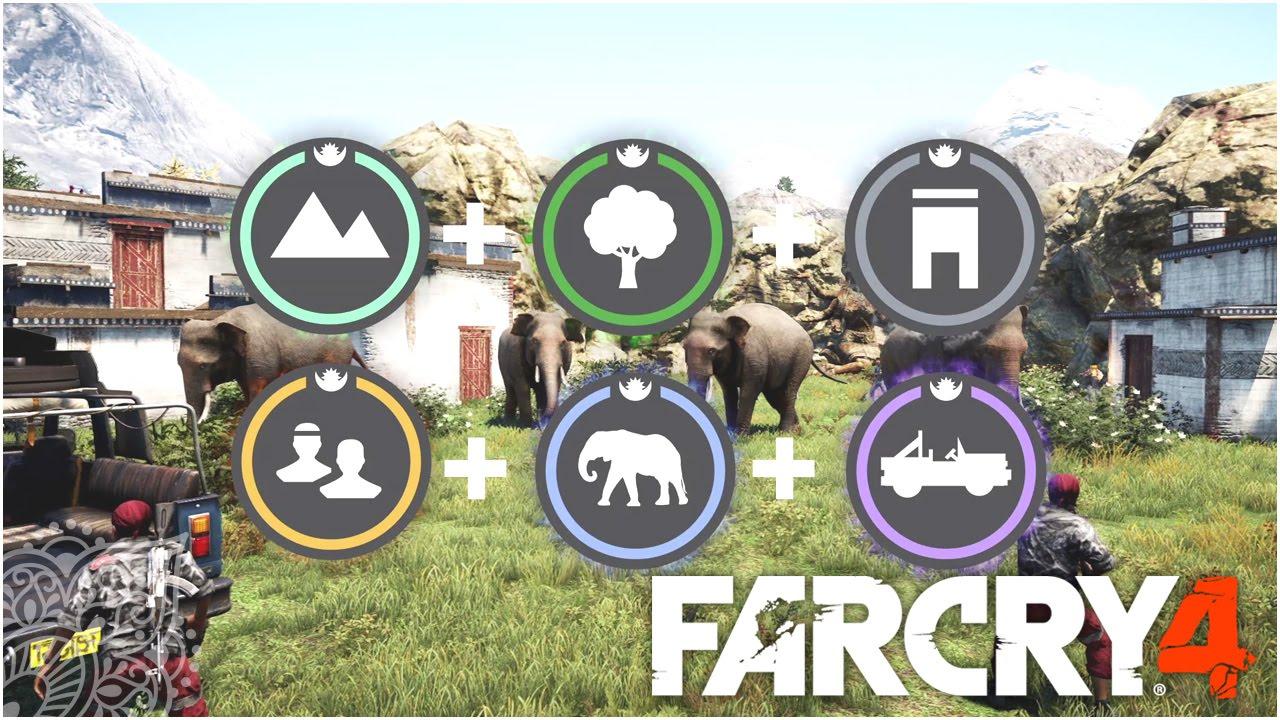『ファークライ4』気合の入ったマップを作ってシェア!シリーズ最高の自由度を実現したマップエディターの紹介動画が公開!