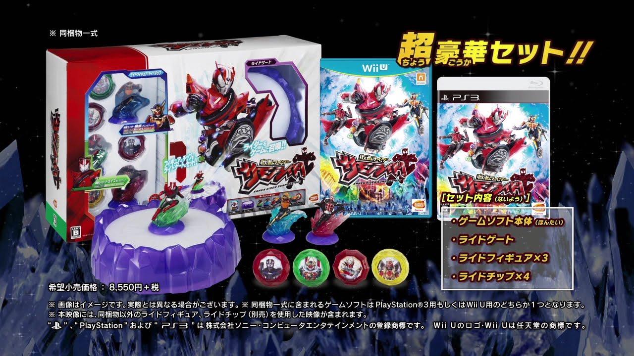 『仮面ライダーサモンライド!』巨大な敵やフィギュア強化などを紹介する第2弾PV