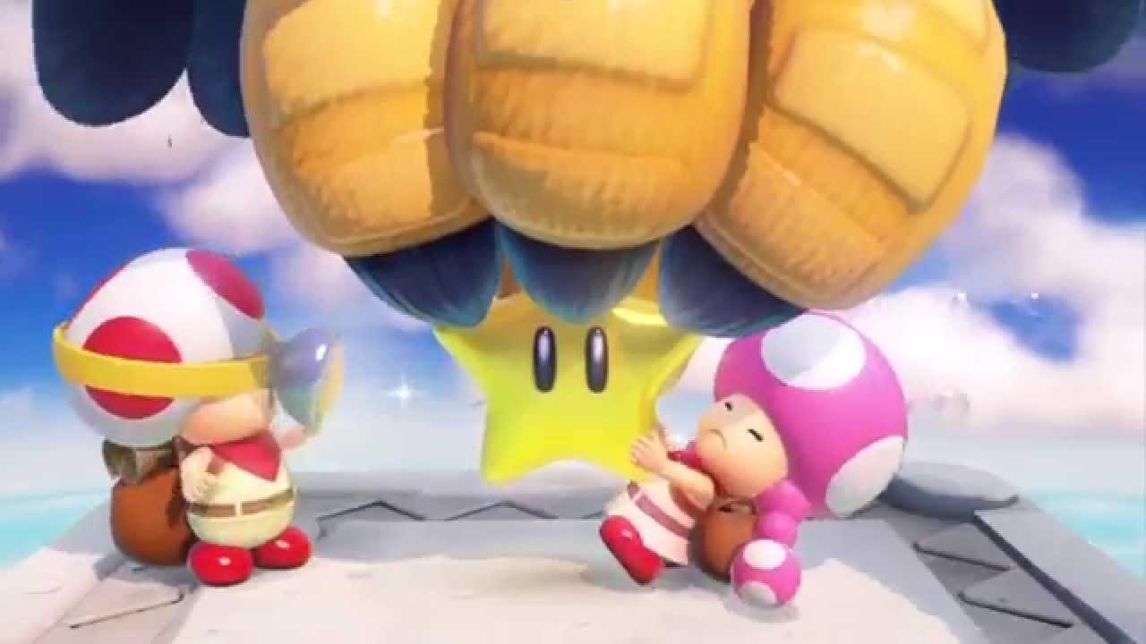『進め!キノピオ隊長』冒頭12分間のプレイ動画
