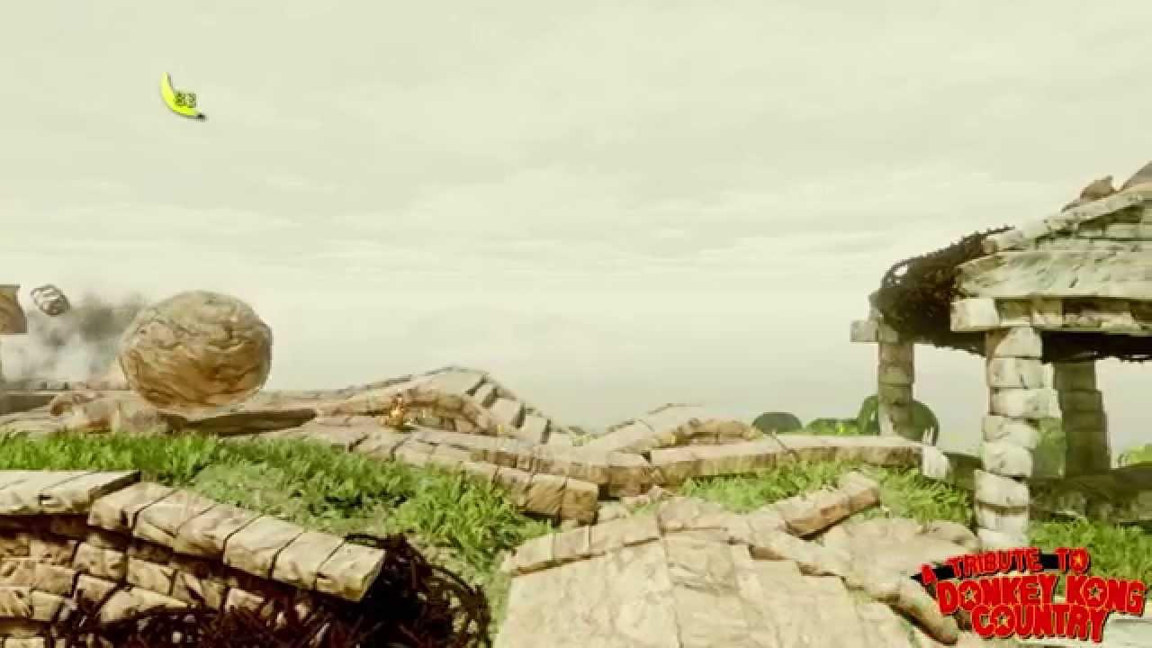 海外ファンがアンリアルエンジンで作成した『スーパードンキーコング』リメイク作品がスゴイ!