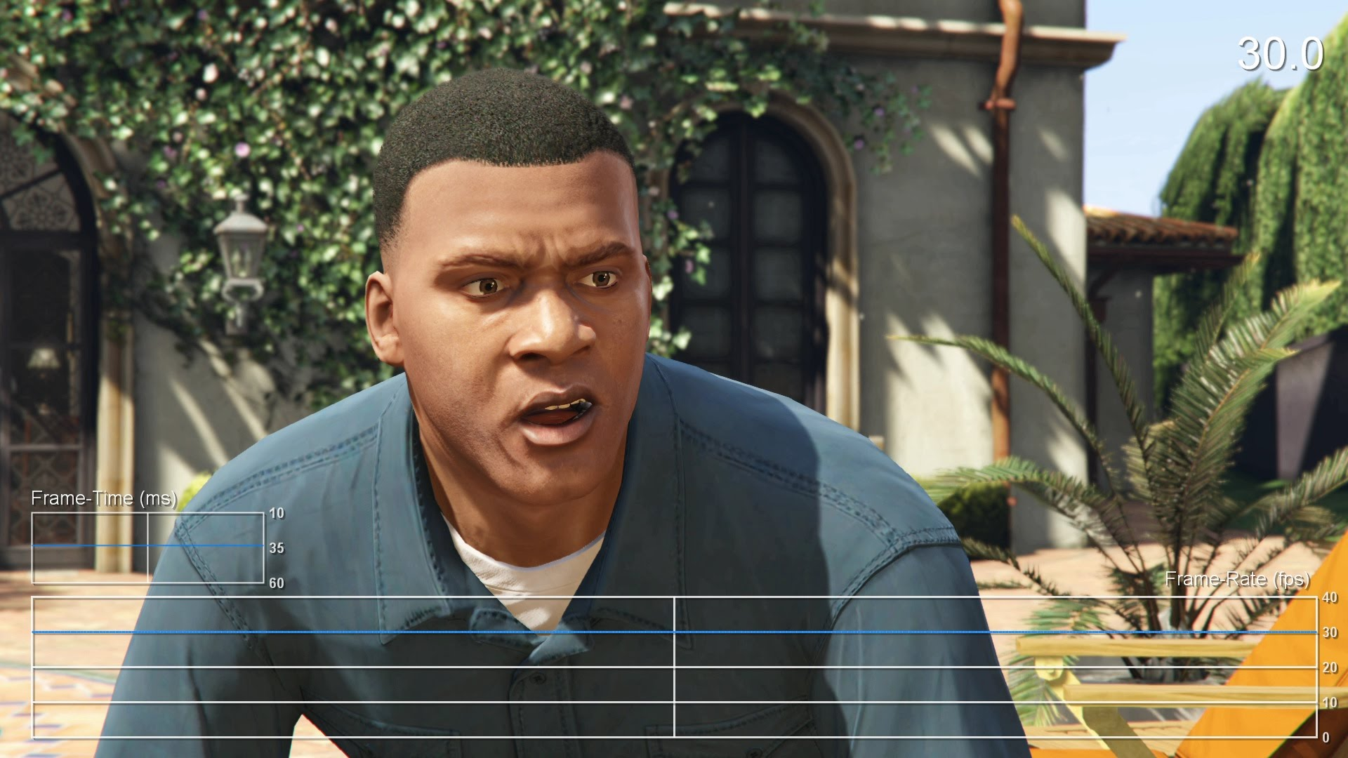 PS4/XB1『グランド・セフト・オートV』両ハード共に抜群の安定感を見せるフレームレートテスト映像