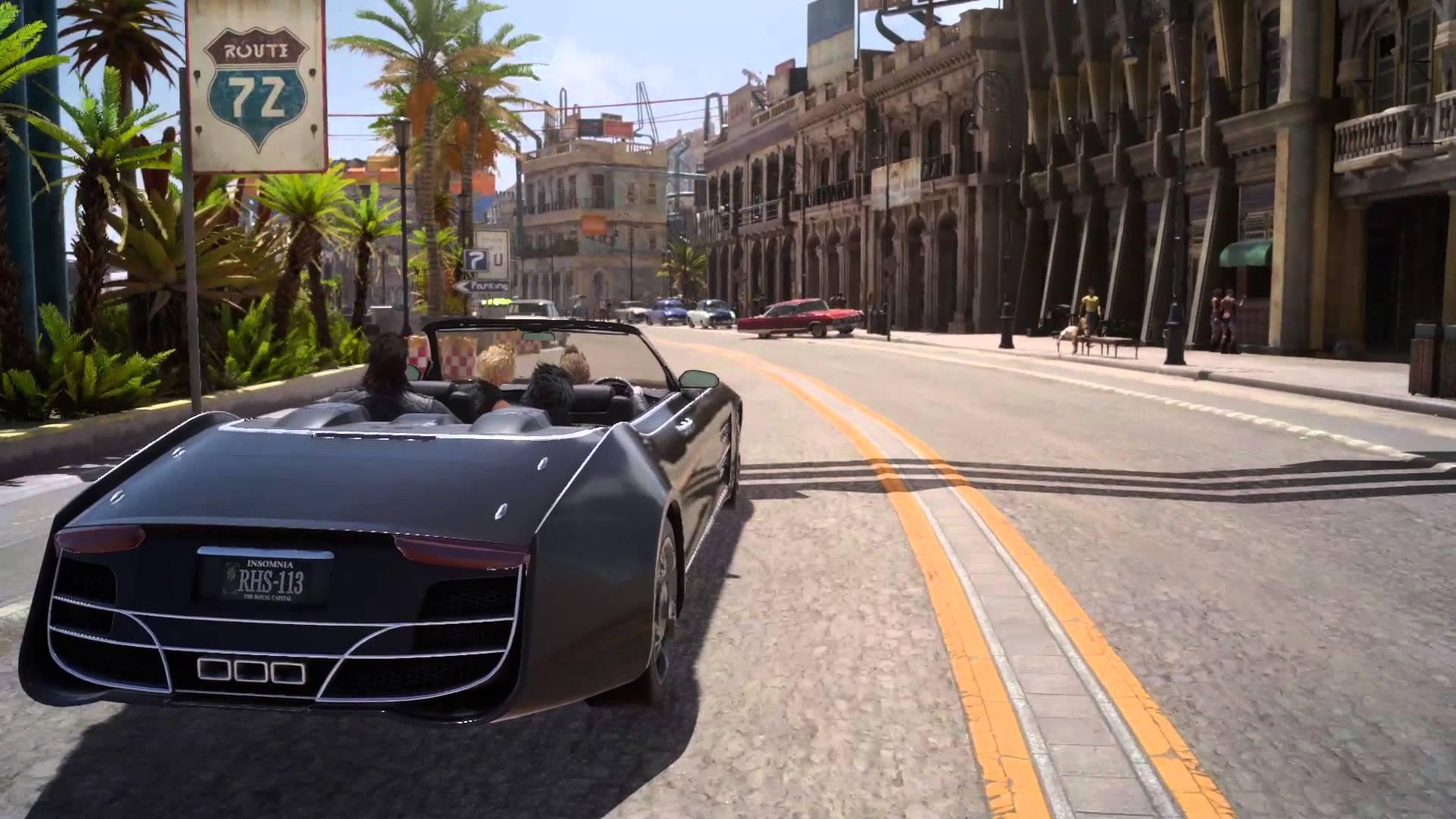 『ファイナルファンタジーXV』田端Dより最新情報多数!最新トレーラーからカットされたシーンや開発途中の街を探索する動画も!