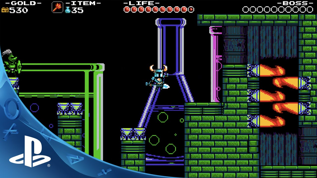 『Shovel Knight』PS4/PS3/Vitaで発売決定!