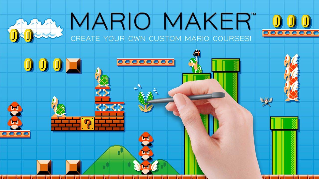 Wii U『Mario Maker』最新映像がワールドプレミア!