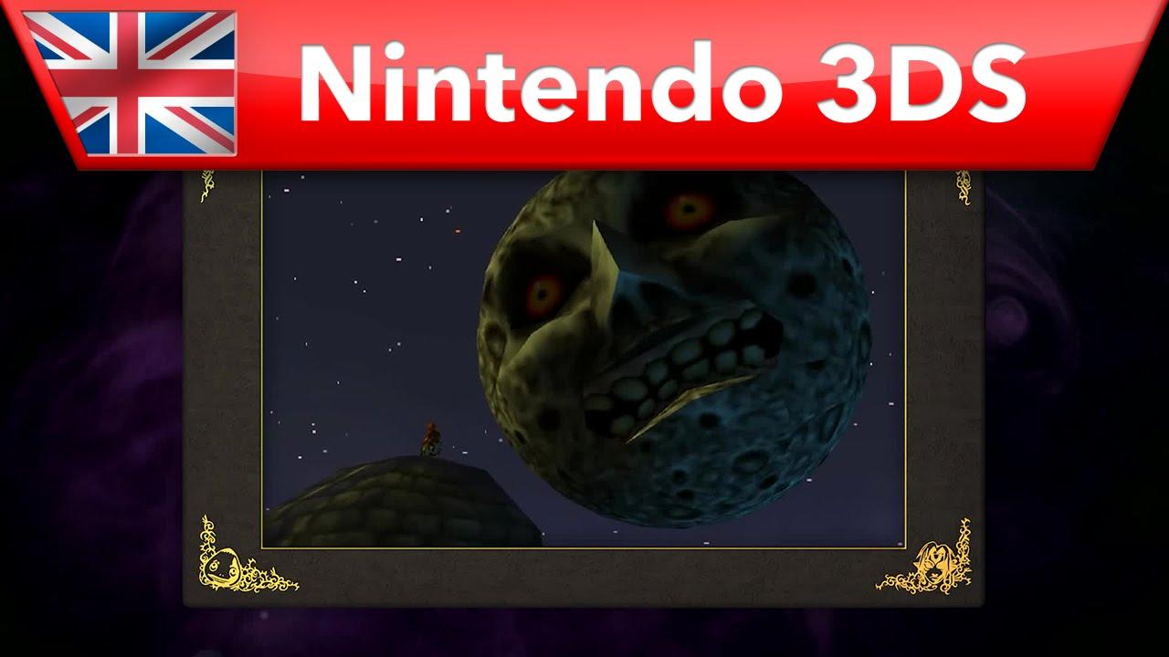 『ゼルダの伝説 ムジュラの仮面3D』英国版PVが公開