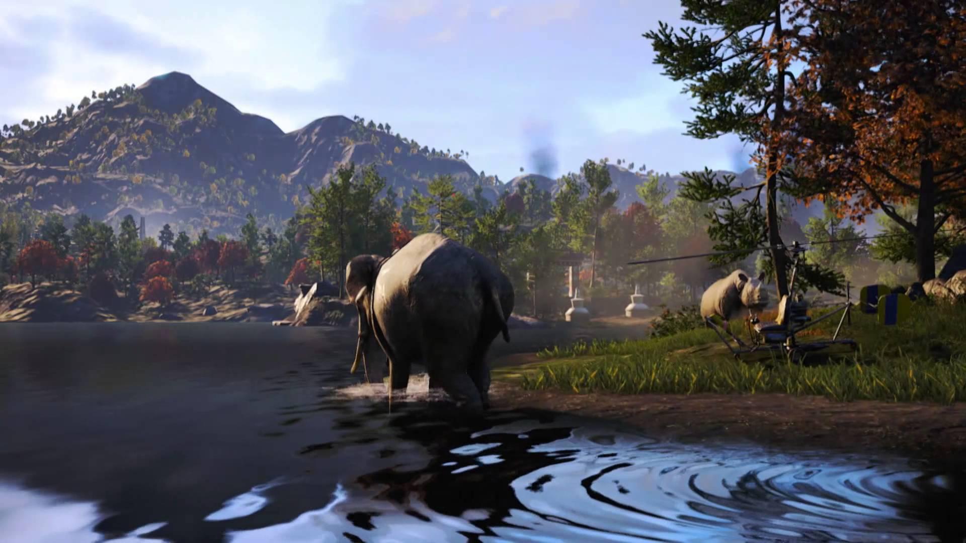 『ファークライ4』1週間の発売延期が発表。新たなプレイ動画公開