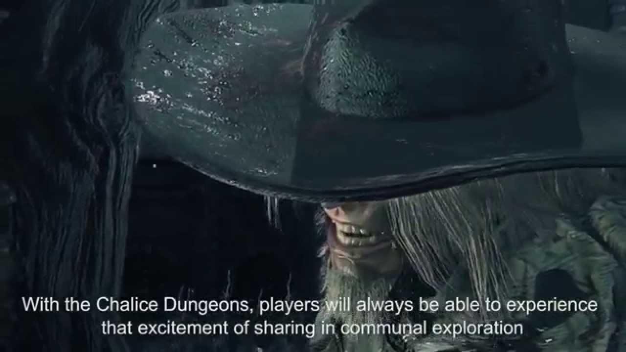 『ブラッドボーン』ゲーム映像を交え「聖杯ダンジョン」について解説する動画