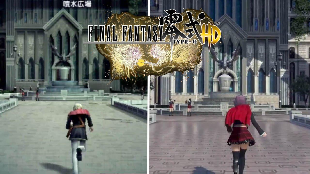 こんなに美しく滑らかになった!『ファイナルファンタジー零式HD』PSP版との比較動画が公開!