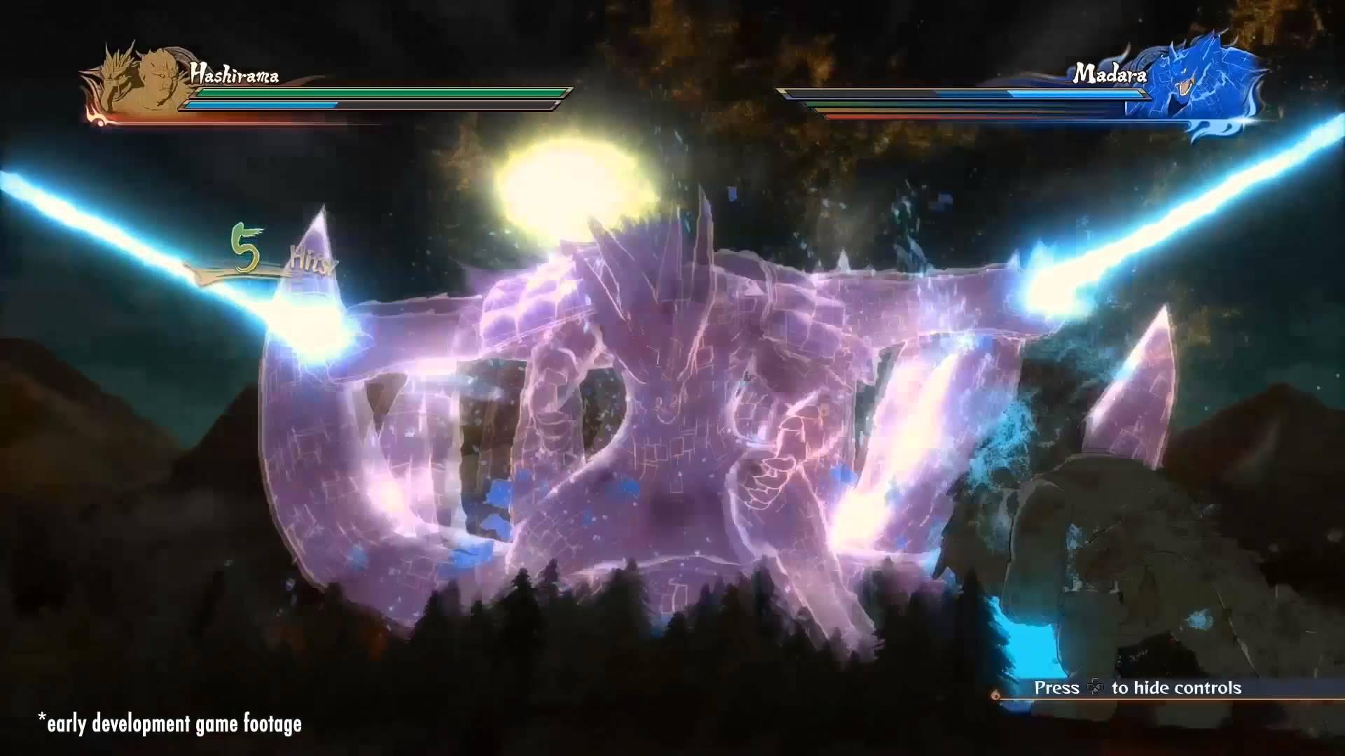 『ナルティメットストーム4』12分にも及ぶゲームプレイトレーラーが公開!