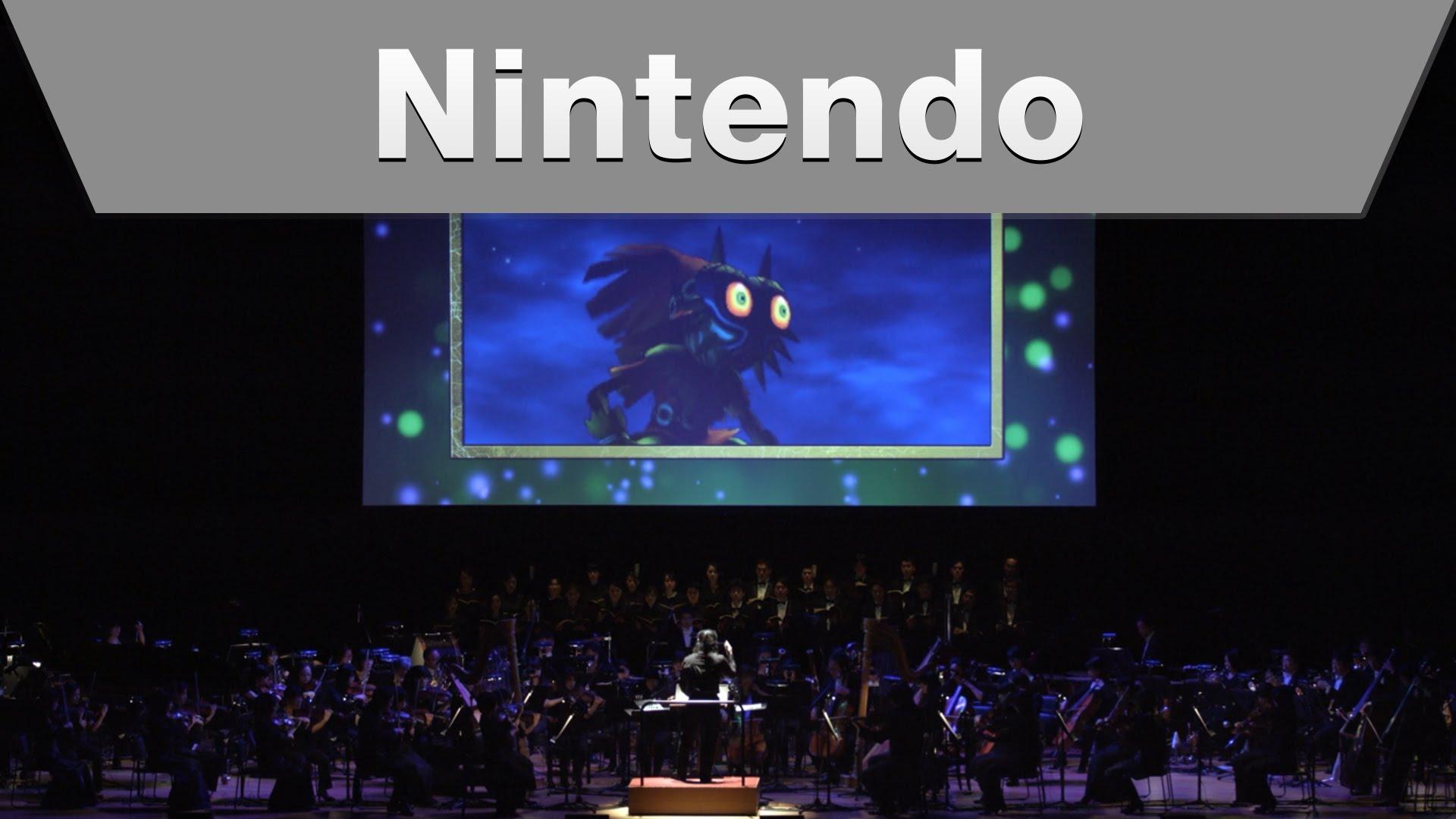 『ムジュラの仮面3D』発売記念コンサート「ゼルダの伝説シンフォニー」ダイジェスト映像が公開