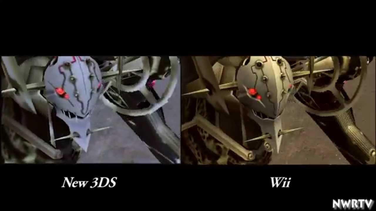 『ゼノブレイド』New3DS版 vs Wii版 グラフィック比較動画