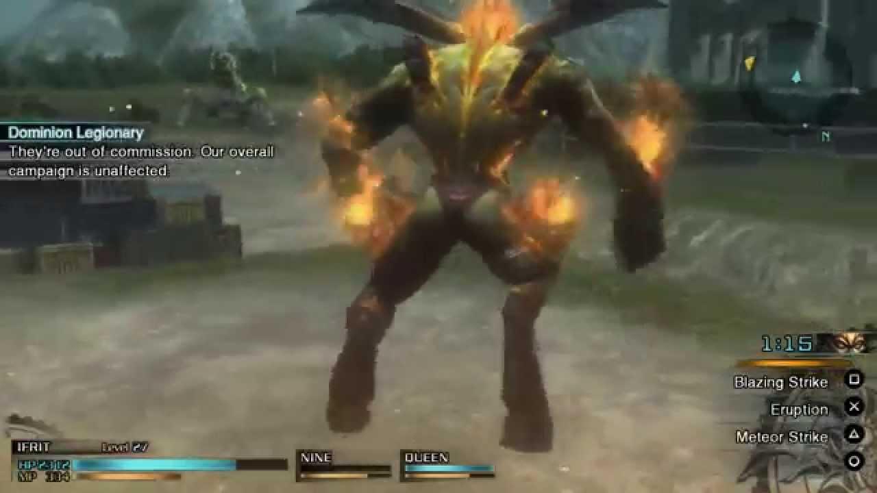 『ファイナルファンタジー零式HD』イフリート、シヴァ、オーディン、ディアボロス 軍神を紹介する公式プレイ動画が公開