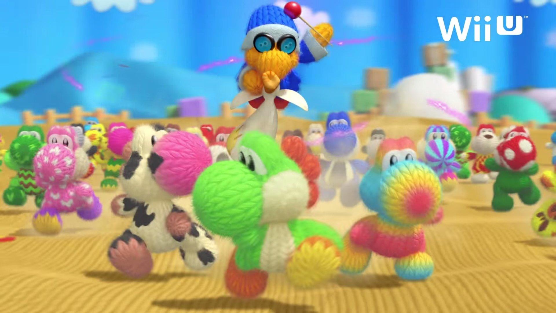 Wii U ヨッシー ウールワールド Tvcm2本が公開 ゲーム情報