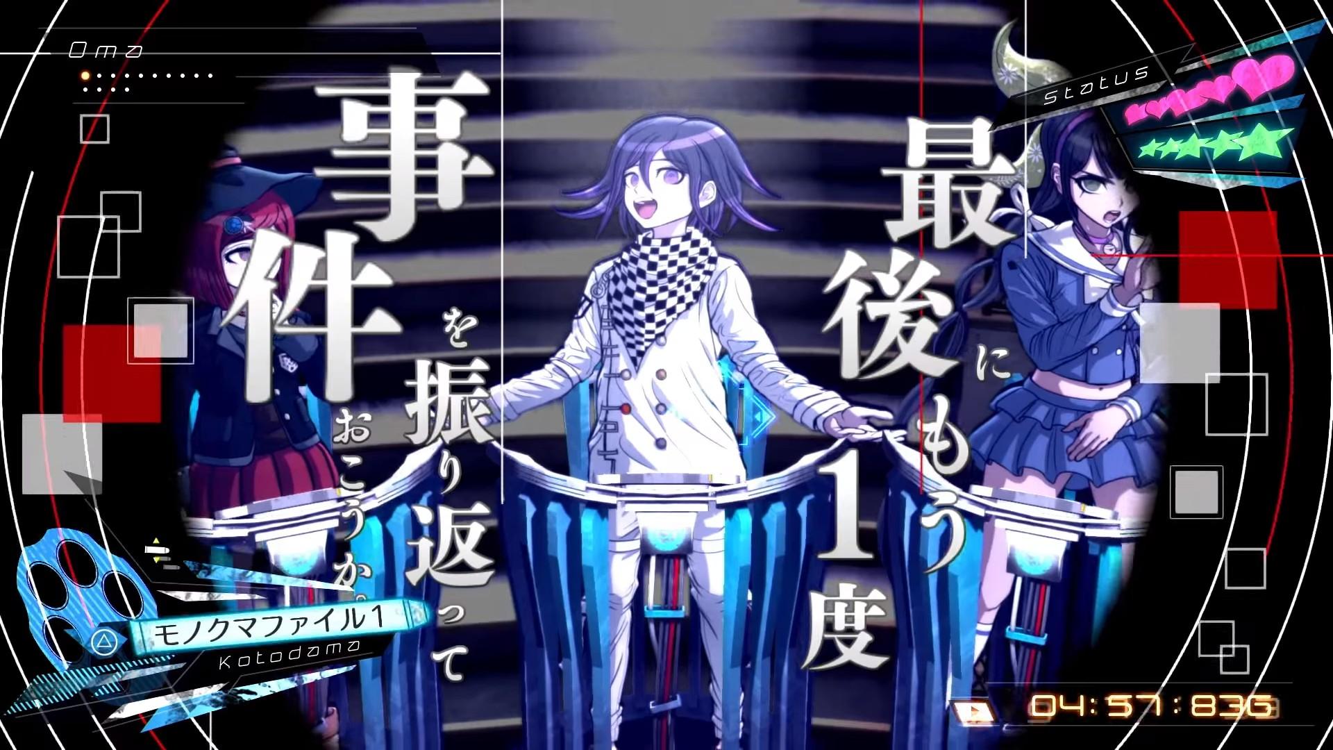 ニューダンガンロンパv3 4名 2体を紹介するキャラクタートレーラー第
