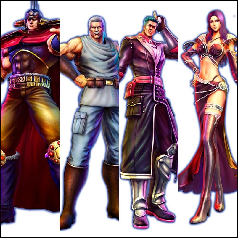 『北斗が如く』ラオウをはじめ4名のキャラクターが公開 ...