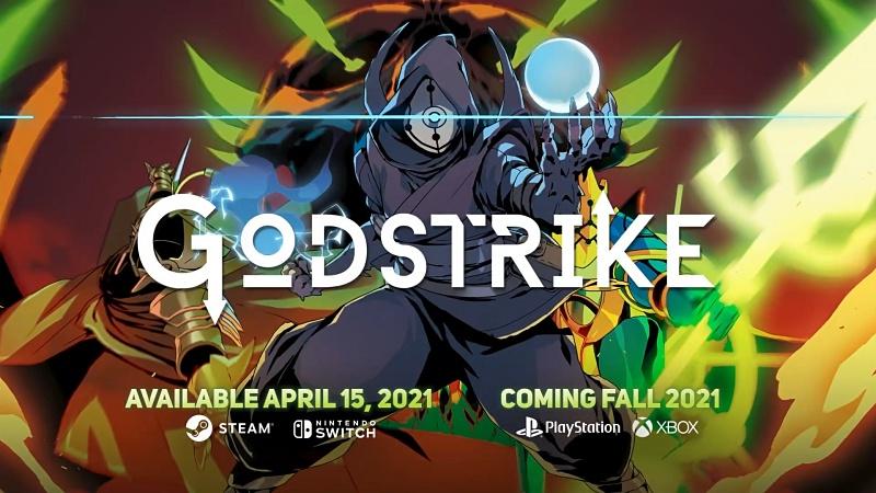 ボスラッシュ型ツインスティック弾幕シューター Godstrike